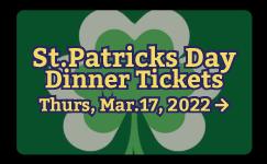 Vanderheyden St. Patrick Day Dinner Tickets