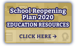 School Re-Opening Plan 2020 | Education Resources